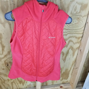 COLUMBIA  HOODED VEST